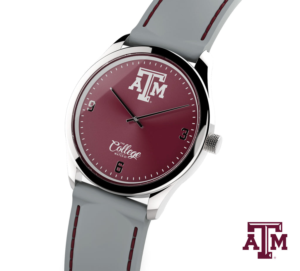 Texas A&M Aggies Watch - 41mm - Slim Edition