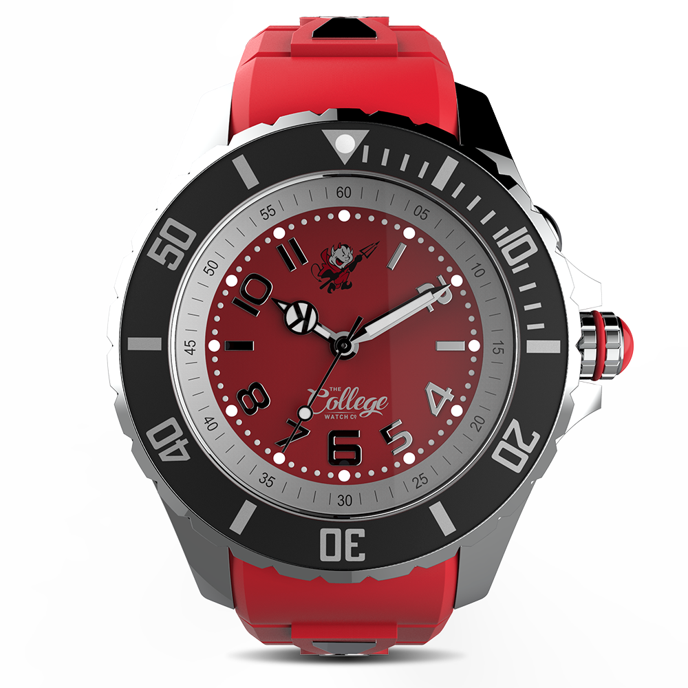 Dickinson Red Devils Watch - 40mm - Silver Edition