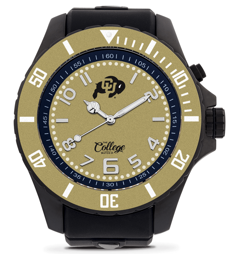 Colorado Buffaloes Watch - 55mm - Silver Edition