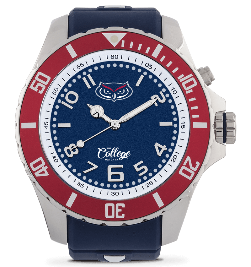 FAU Owls Watch - 55mm