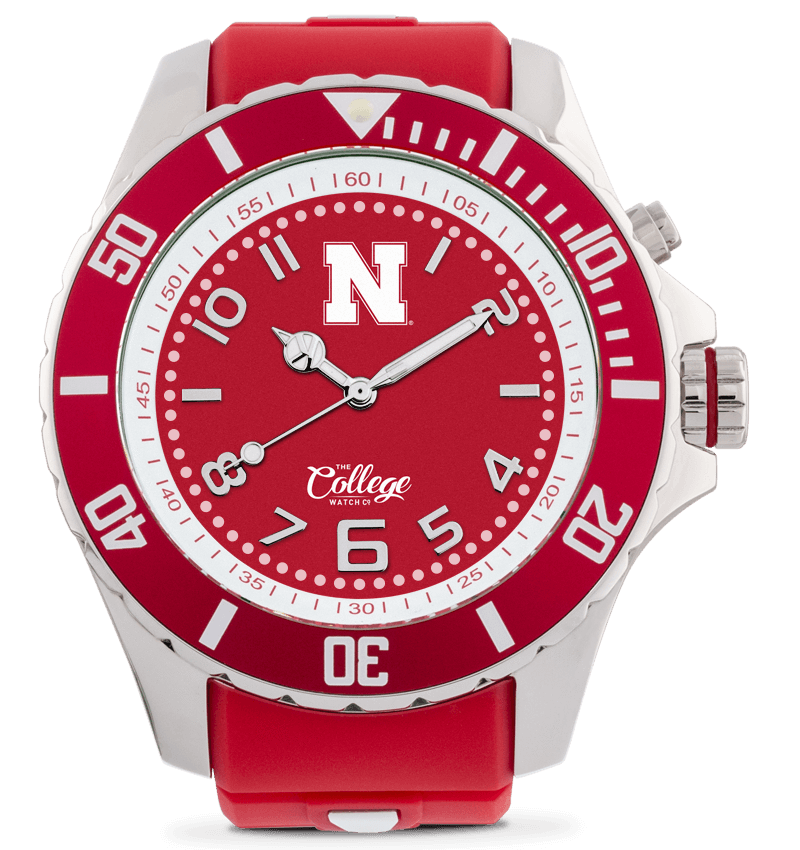 Nebraska Cornhuskers Watch - 55mm