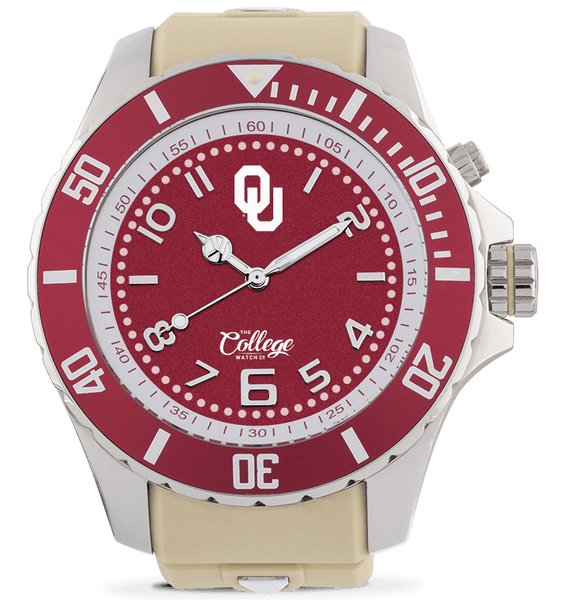 Oklahoma Sooners Watch - 55mm