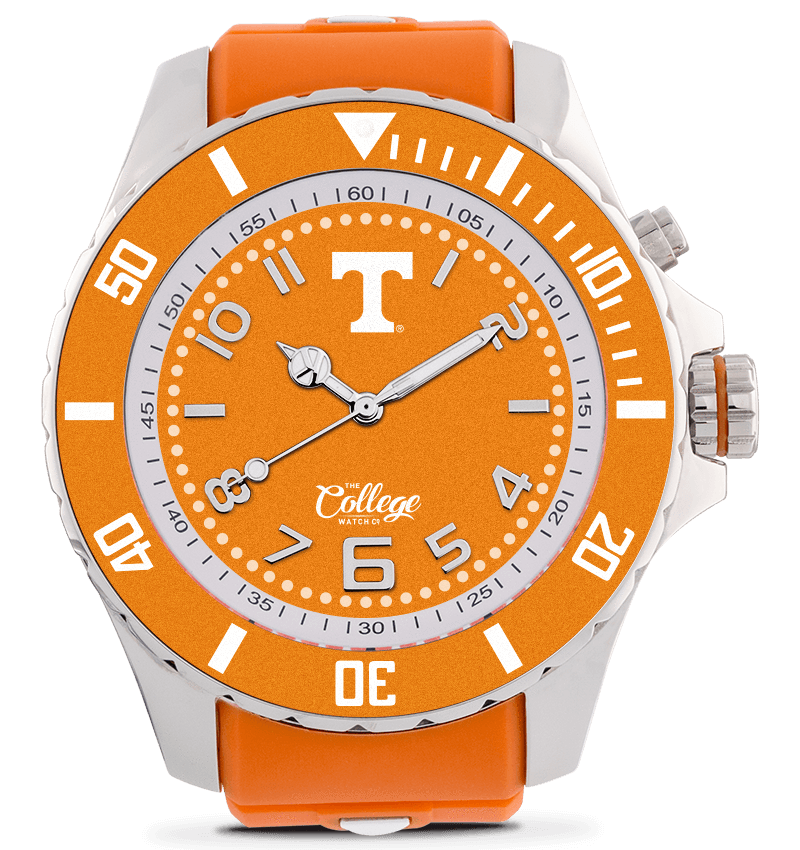 Tennessee Volunteers Watch - 55mm - Silver Edition