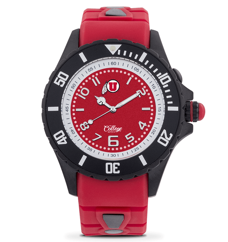 Utah Utes Watch - 40mm - Silver Edition