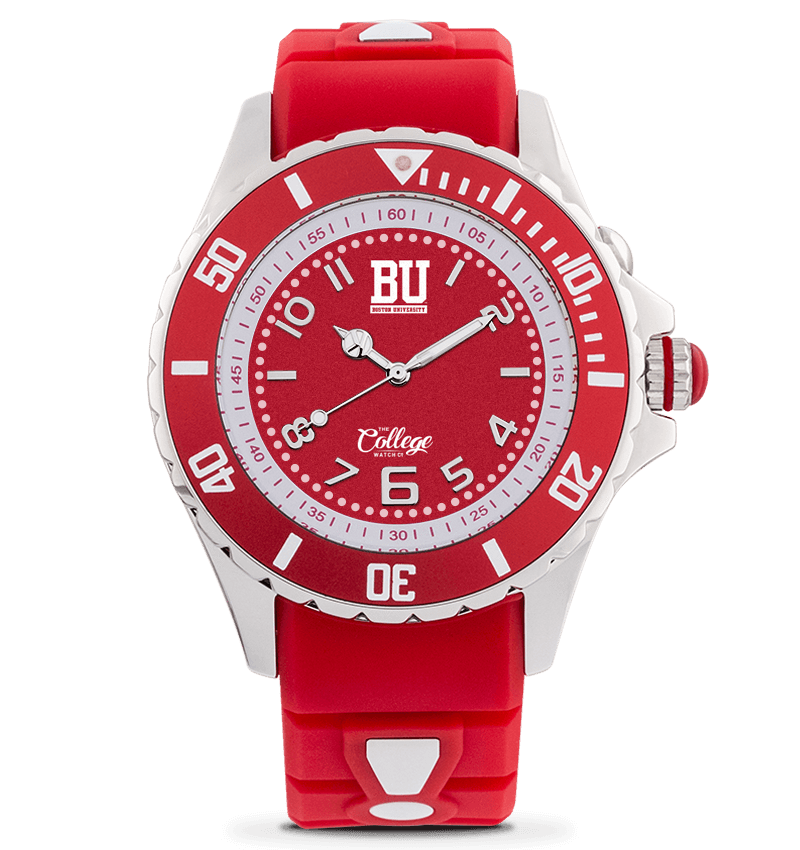 Boston University Terriers Watch - 40mm - Silver Edition