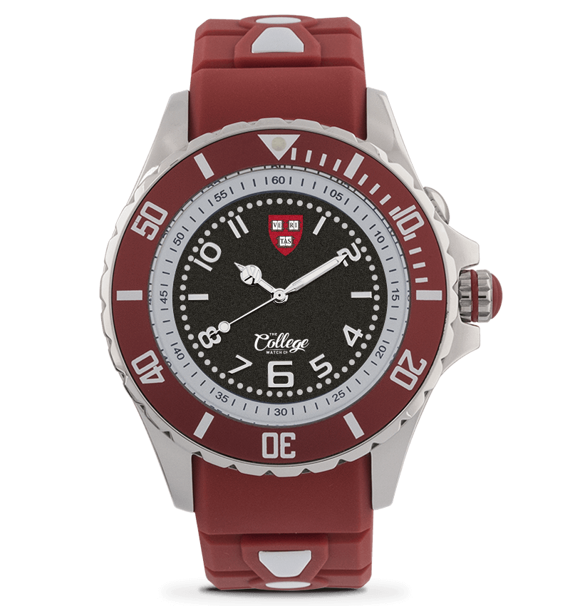 Harvard Crimson Watch - 40mm - Silver Edition