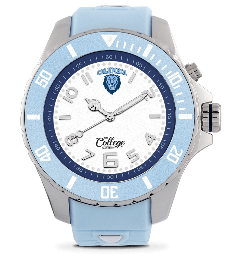 Columbia Lions Watch - 48mm - Silver Edition