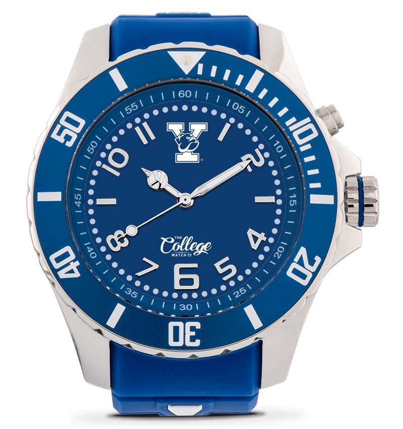 Yale Bulldogs Watch - 55mm - Silver Edition