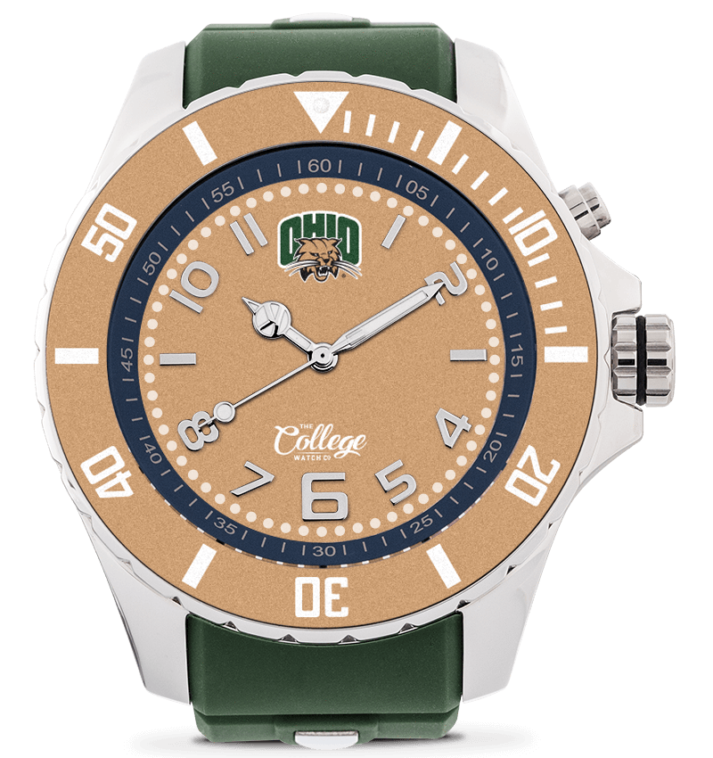 Ohio Bobcats Watch - 55mm - Silver Edition