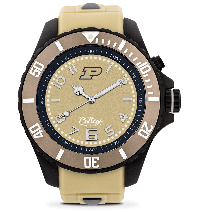 Purdue Boilermakers Watch - 48mm - Silver Edition