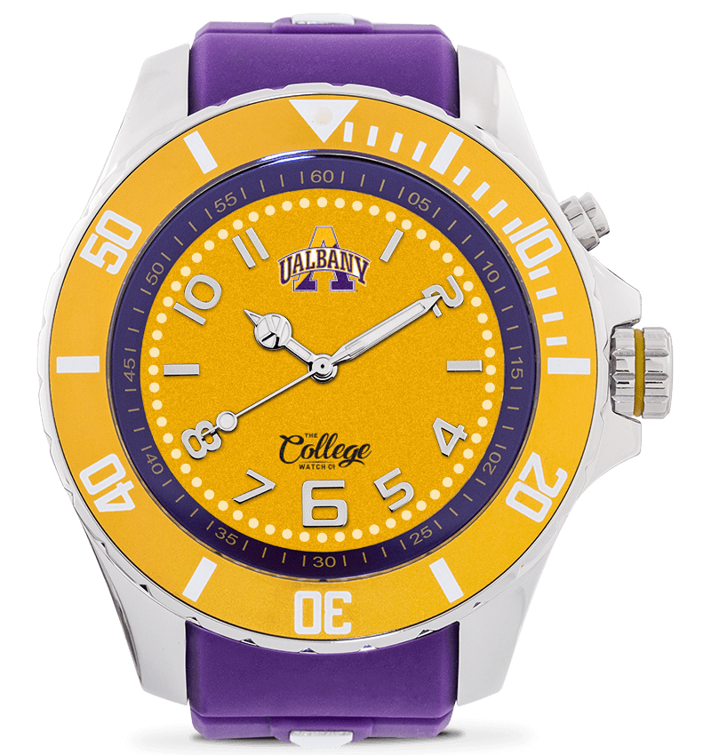 Albany Great Danes Watch - 55mm - Silver Edition