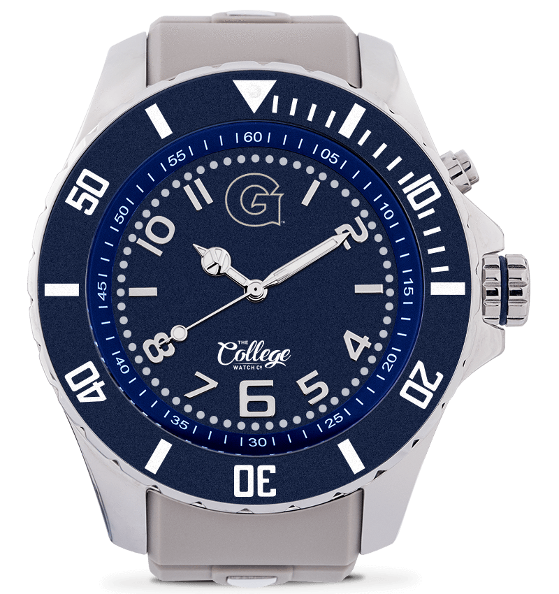Georgetown Hoyas Watch - 55mm - Silver Edition
