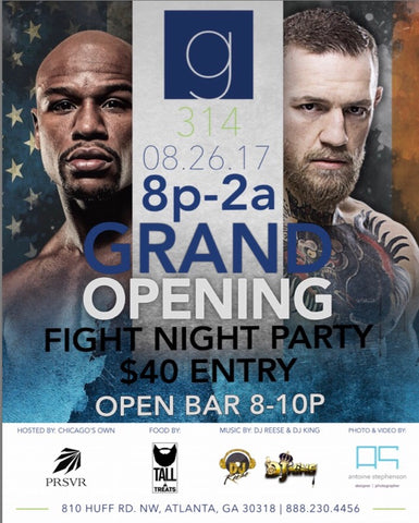Grand Opening Galleria 314 Fight Night