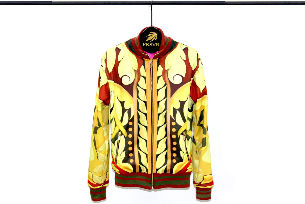 Load image into Gallery viewer, Coliseum Camo Bomber Jacket