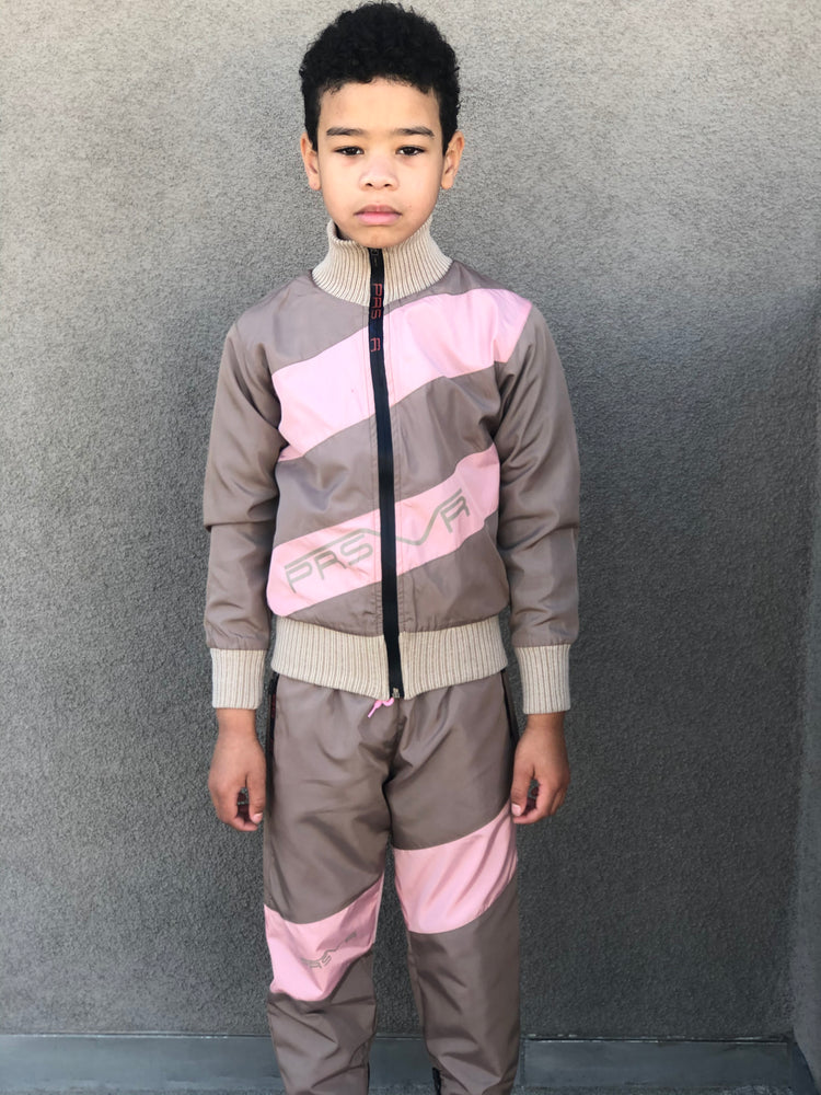Load image into Gallery viewer, KIDS Uptown Jacket and Pant Set via Santa Monica