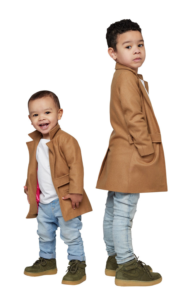 Load image into Gallery viewer, Kids Boomerang Coat