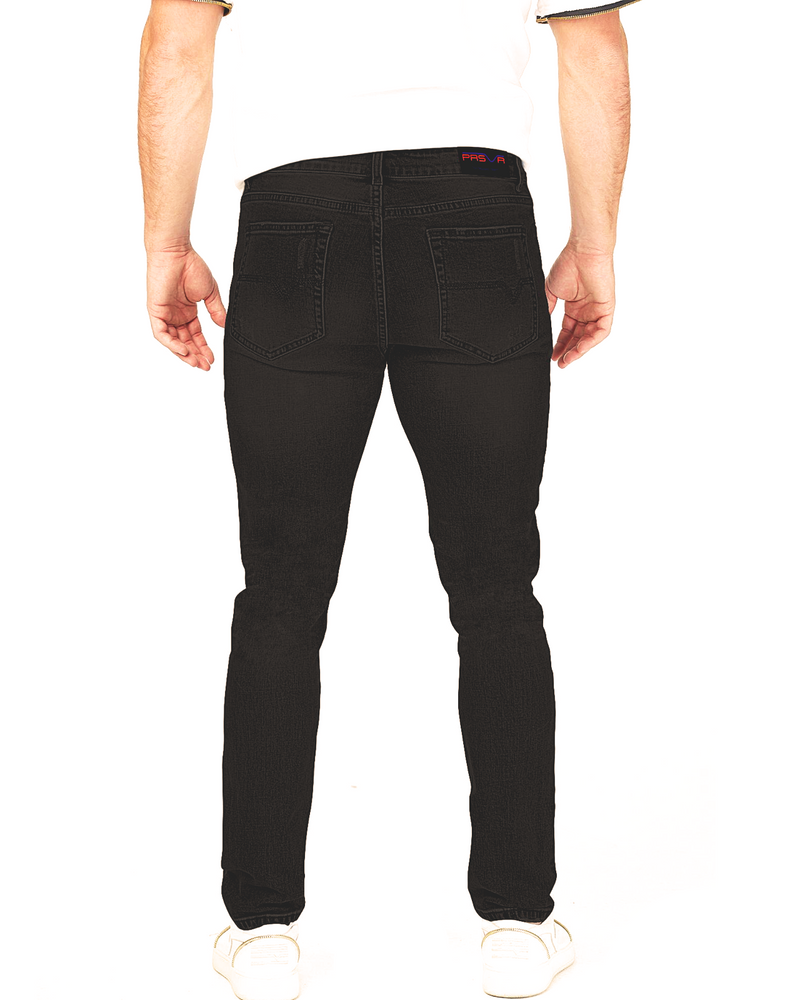 Load image into Gallery viewer, Noir Valley Denim (Clean Rinse)