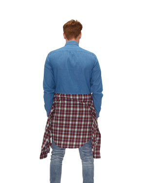 Load image into Gallery viewer, The Denim Flannel
