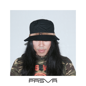 The PRESII: Black Bucket Hat