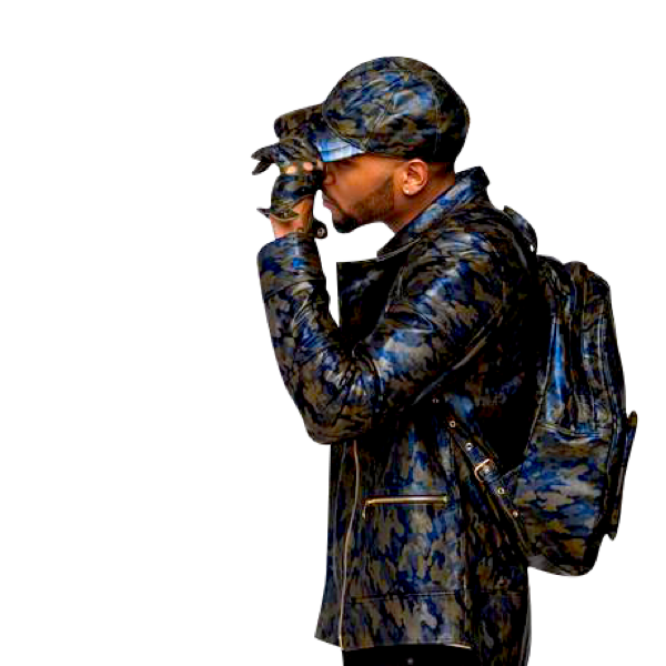 Camouflage Hollywood Motorcyle Jacket