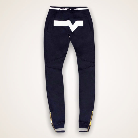 Elevated Valley Sweats (Black/White)