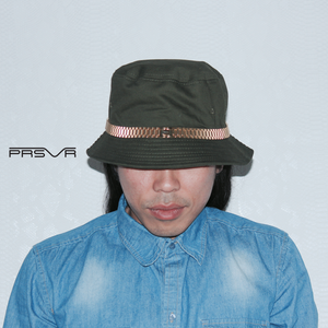 The PRESII: Olive Bucket Hat