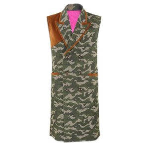 Load image into Gallery viewer, Black Camouflage Utility Vest