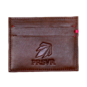 Brown Cash and Carry Card Holder/Wallet