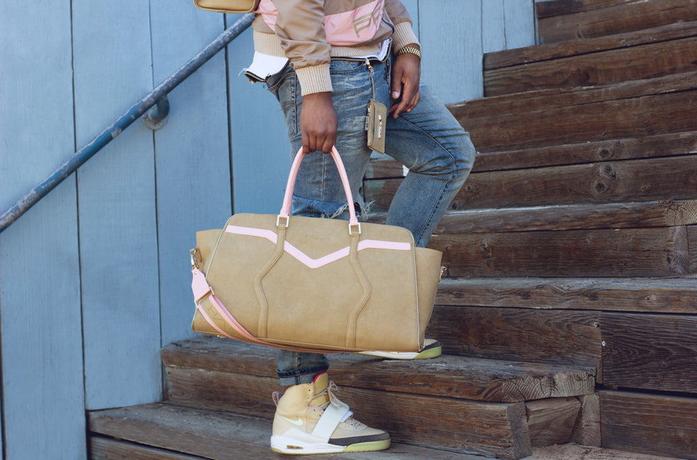 The Valley Duffle via Santa Monica