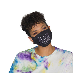 Black Wealth Matters x NOIRPOLITAN Designer Face Mask