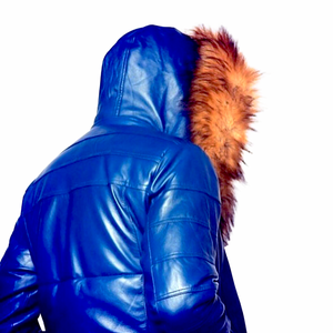 Persevere Blue Winter Coat