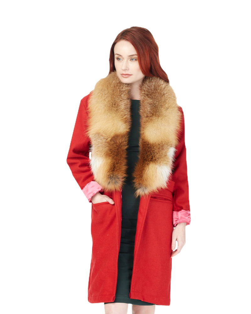 Load image into Gallery viewer, R.E.D. Wool Boomerang Coat