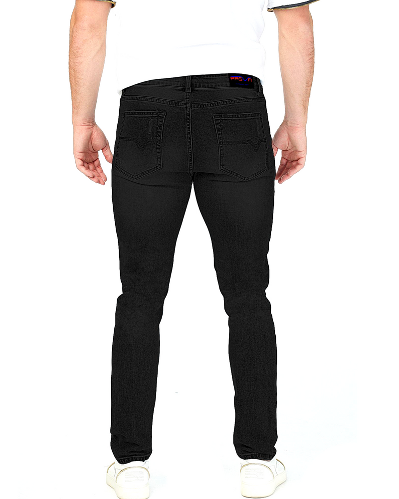 Load image into Gallery viewer, Black Valley Denim (w/Hand Painted Valley)