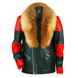Load image into Gallery viewer, Chicago Hollywood Motorcycle Jacket