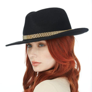 The PRESII: Black Fedora Hat
