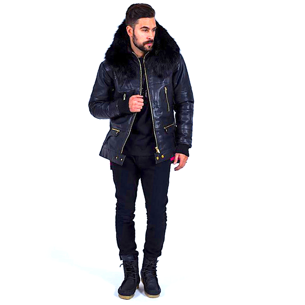 Black Winter Coat 2.0
