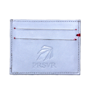 77e98251c63bd White Cash and Carry Card Holder Wallet