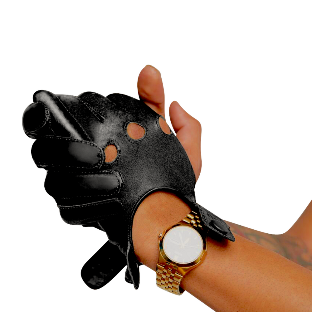 Black Texting Gloves
