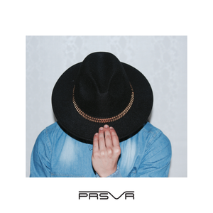 Load image into Gallery viewer, The PRESII: Black Fedora Hat