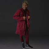 Cranberry Trench Coat