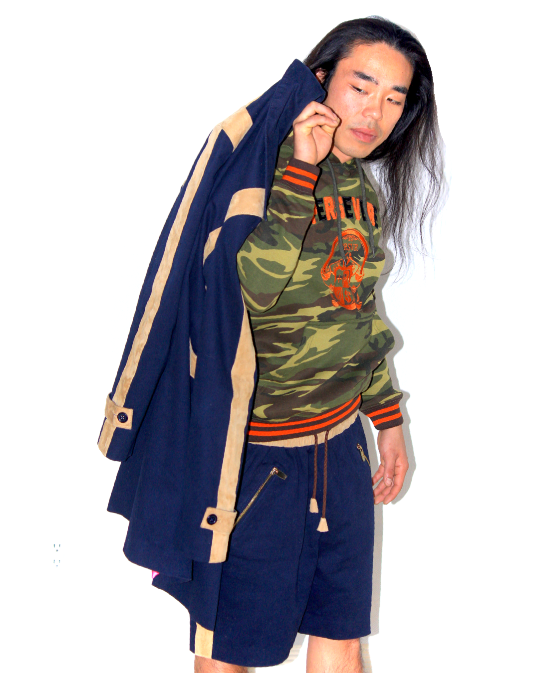 DAY : Boomerang Racing Cup Twill Trench - Navy