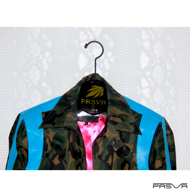 DAY : Boomerang Racing Cup Twill Trench - Ocean Camo