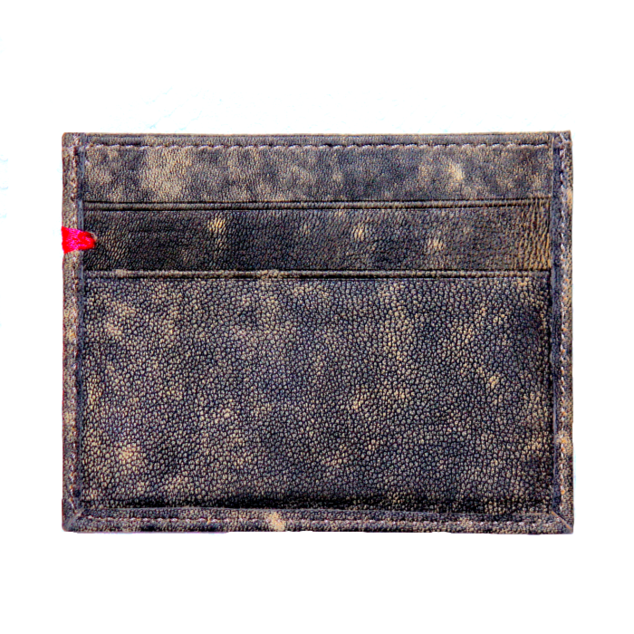 Acid Dipped Cash and Carry Card Holder/Wallet