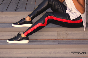 Load image into Gallery viewer, Leather Valley Track Pants