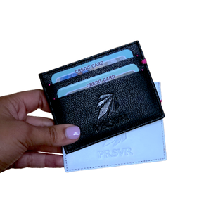 Black Cash and Carry Card Holder/Wallet