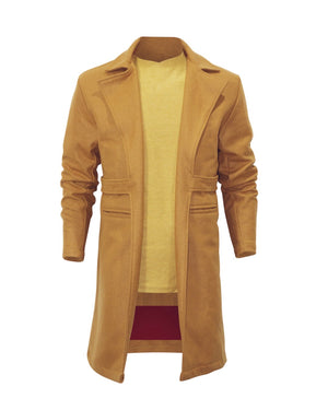 Load image into Gallery viewer, PRSVR Boomerang Wool Trench Coat w/Fur