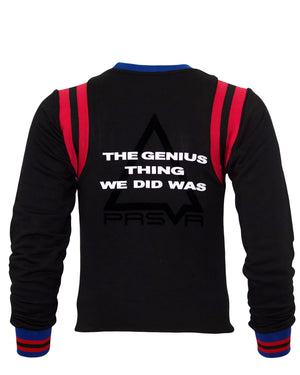 Load image into Gallery viewer, Varsity Pyramid Sweater (Black)
