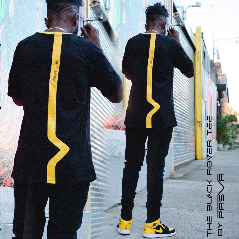 Load image into Gallery viewer, Black Valley Yellow Rover Tee (NYC)