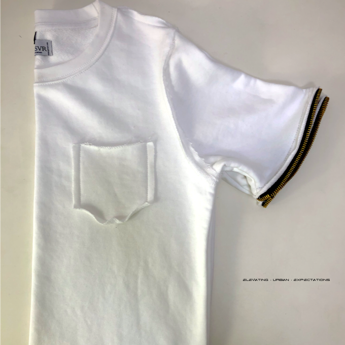 Tiger Teeth Crew (White)