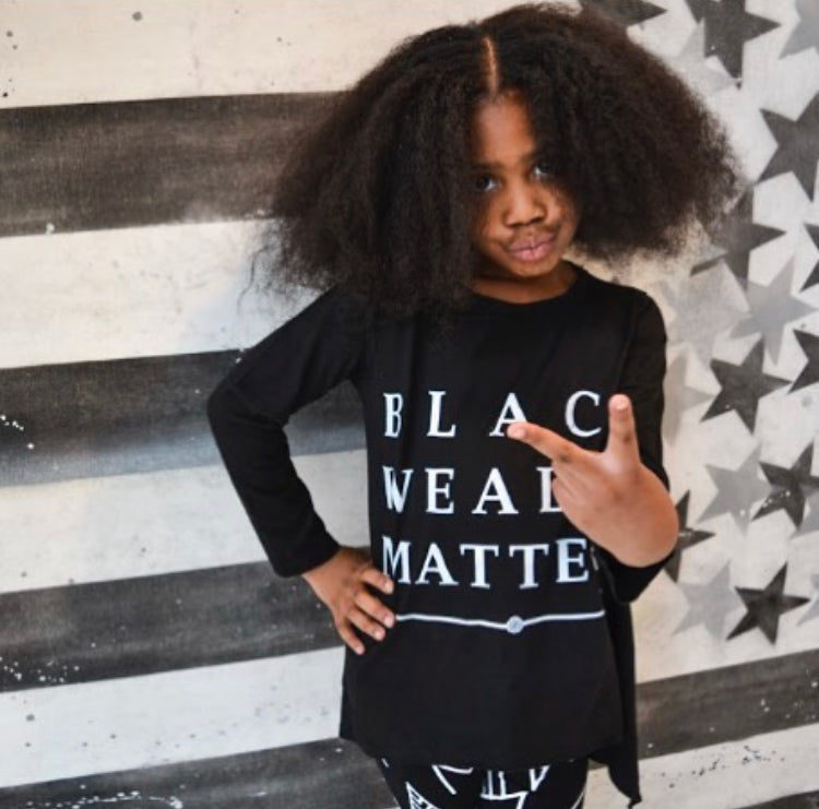 Black Wealth Matters Kids Tee